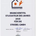 Striebel GmbH Stuck und Farbe aus Laupheim