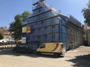 Fassadenrenovierung GWO, Laupheim