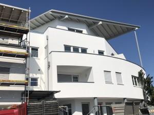 Malerarbeiten, Wohn- und Geschäftshaus in Laupheim
